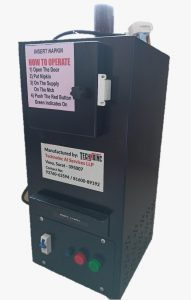 Sanitary Napkin Incinerator Machine